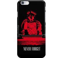 The Red Wedding (Direwolf version) iPhone Case/Skin