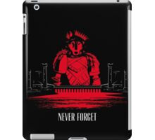 The Red Wedding (Direwolf version) iPad Case/Skin