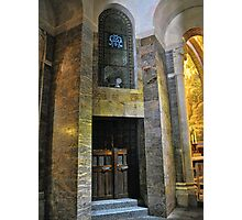 Inside the Rosary Basilica, Lourdes Photographic Print