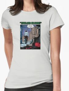 Time Lord No More Womens Fitted T-Shirt