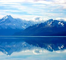 Lake Pukaki, New Zealand landscape by jwwallace
