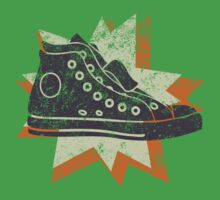 Retro High Tops Kids Tee