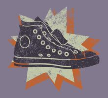 Retro High Tops Kids Clothes