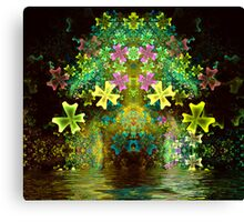 Flower Arch Canvas Print