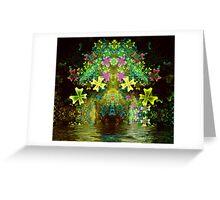 Flower Arch Greeting Card
