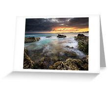 """""""Elements"""" ∞ Tugun, QLD - Australia Greeting Card"""