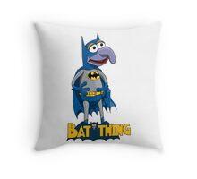 Gonzo the Batman Throw Pillow
