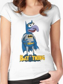 Gonzo the Batman Women's Fitted Scoop T-Shirt