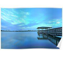 Lake Monger, Perth, W.A Poster