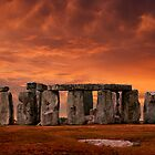Stonehenge Sunset by jwwallace