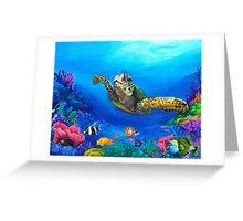 Rainbow Sea Greeting Card