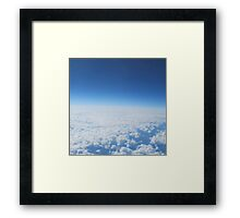 Fly up to the sky Framed Print