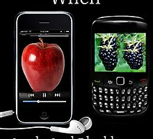 ☝ ☞ LIFE WAS SO MUCH EASIER WHEN APPLE AND BLACKBERRY WERE JUST FRUITS PICTURE/CARD☝ ☞ by ╰⊰✿ℒᵒᶹᵉ Bonita✿⊱╮ Lalonde✿⊱╮