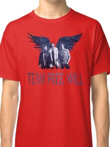 Team Free Will in BLUE Classic T-Shirt