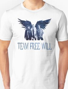 Team Free Will in BLUE Unisex T-Shirt