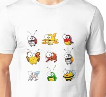 Cartoon insects Unisex T-Shirt