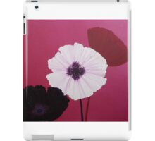 Ornamental Poppies in Pink iPad Case/Skin