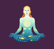 Young woman practicing meditation 2 T-Shirt