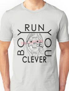 Doctor Who tee | Clara quote | Run you clever boy... Unisex T-Shirt