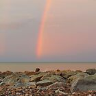 Rainbow out at Sea by Sarah Couzens