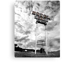 Motel Sign Canvas Print