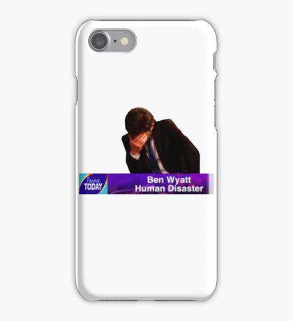 Ben Wyatt, Human Disaster iPhone Case/Skin