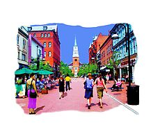 Vermont Street Painting by MarkUK97