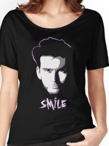 Kilgrave: Smile (white on dark colors) Women's Relaxed Fit T-Shirt