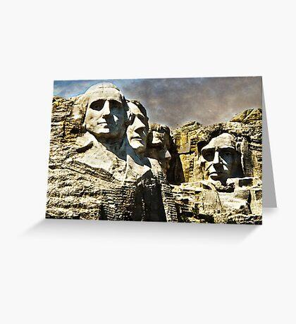 Presidential Rocks Greeting Card