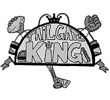 TailGate King Photographic Print