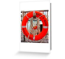 how about some swimming... Greeting Card