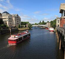 River Ouse, York. by John Dalkin