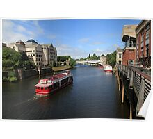 River Ouse, York. Poster