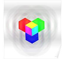 RGB - Cube Poster