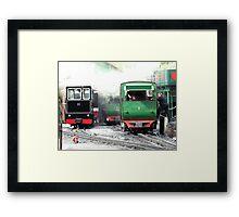 Llanberis Locomotive Shed Framed Print