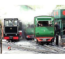Llanberis Locomotive Shed Photographic Print
