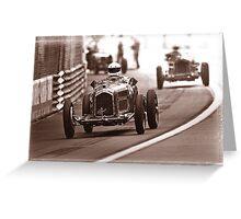 Grand Prix Historique de Monaco #3 Greeting Card