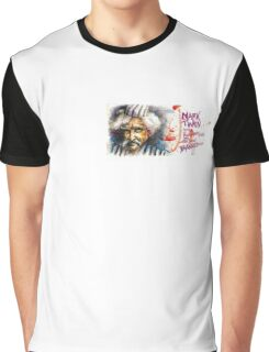 Mark Twain, Banned Author Graphic T-Shirt