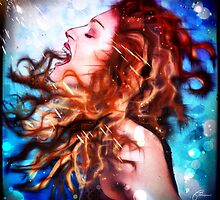 Madonna in a Ray of Light by themighty