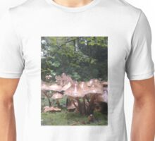 shrooms in the woods Unisex T-Shirt