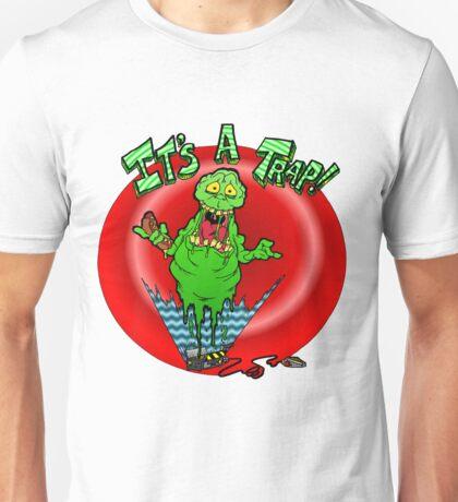 Slimer it's a trap Unisex T-Shirt