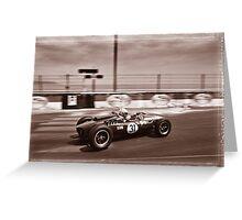 Grand Prix Historique de Monaco #10 Greeting Card