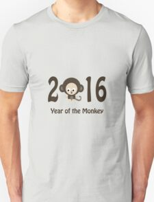 Cute 2016 Year of the Monkey T-Shirt
