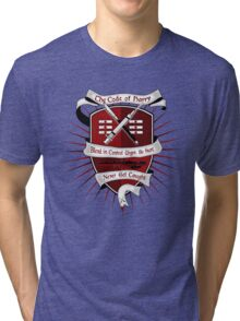 The Harry Code (Silver) Tri-blend T-Shirt