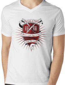 The Harry Code (Silver) Mens V-Neck T-Shirt