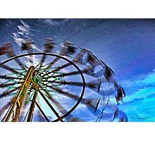 Abstract Ferris Wheel Photographic Print