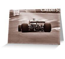 Grand Prix Historique de Monaco #12 Greeting Card