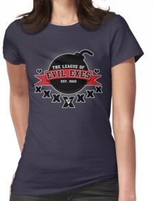 The League of Evil Exes Womens Fitted T-Shirt