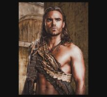 Gannicus (Spartacus the TV Series) by Marjuned