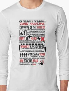 How to Survive... Long Sleeve T-Shirt